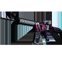 M4A4 | 黑色魅影 (略有磨损)
