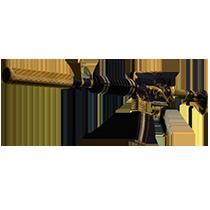 M4A1 消音型 | 金蛇缠绕 (久经沙场)