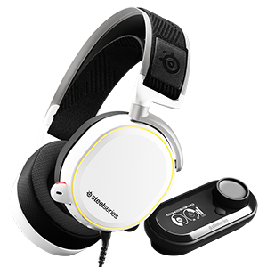 SteelSeries(赛睿) Arctis Pro +GameDAC 游戏耳机 白色/黑色