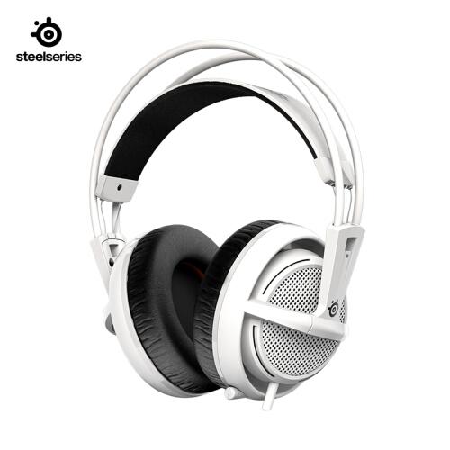 SteelSeries(赛睿)西伯利亚200耳机 白色 黑色