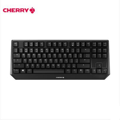樱桃(Cherry)MX1.0 TKL G80-3810LYAEU-2 87键机械键盘 黑色 红轴
