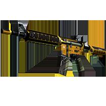 M4A4 | 喧嚣杀戮 (略有磨损)