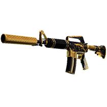 M4A1 消音型 | 金蛇缠绕 (略有磨损)