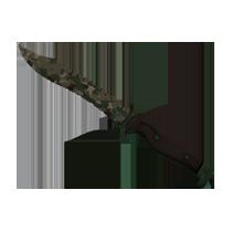 鲍伊猎刀(★) | 森林 DDPAT (久经沙场)