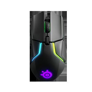 赛睿无线鼠标Rival 650 双传感器可拆配重编程专业电竞游戏鼠标